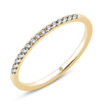 Fine ID161- Yellow 14kt gold with diamonds