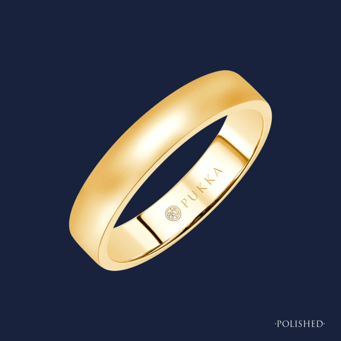 Grand Linear Band - 188 - Yellow - Polished