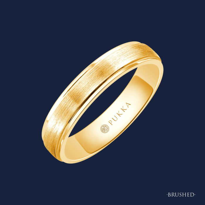 Grand Step Cut Band - 190 - Brushed - Yellow
