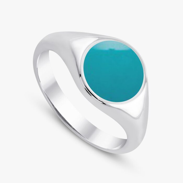 291 custom signet ring white 2