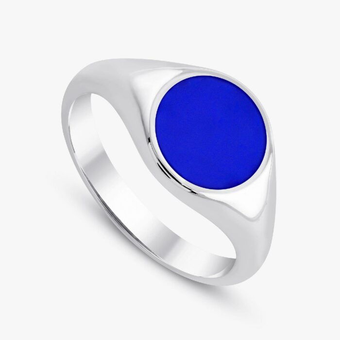 291 custom signet ring white 3