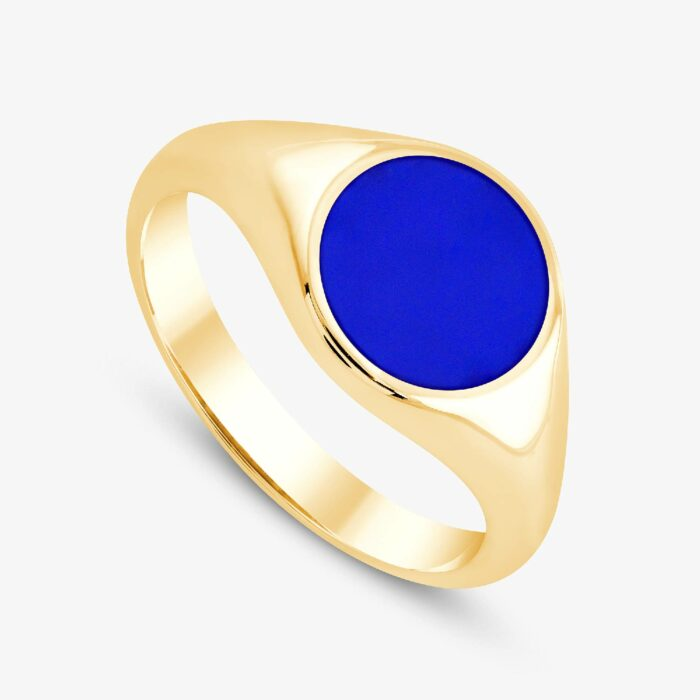 291 custom signet ring yellow 3