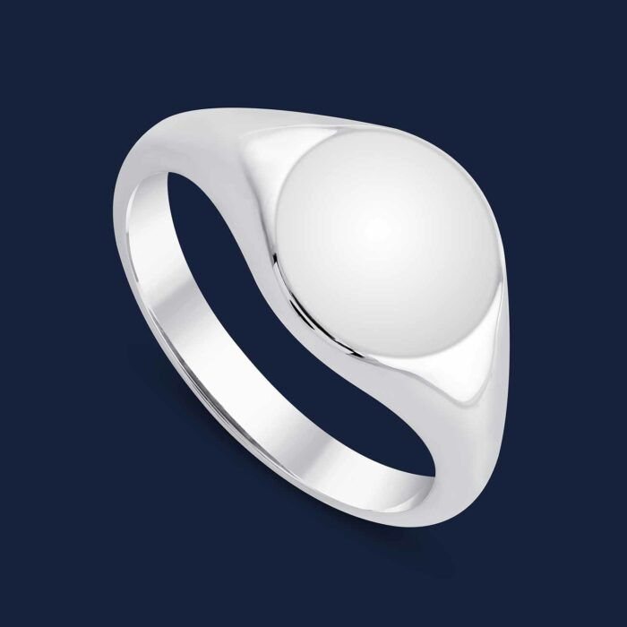 292 Initial Signet Ring - W