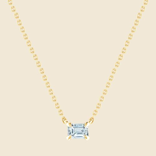 Petite Lily Necklace Yellow