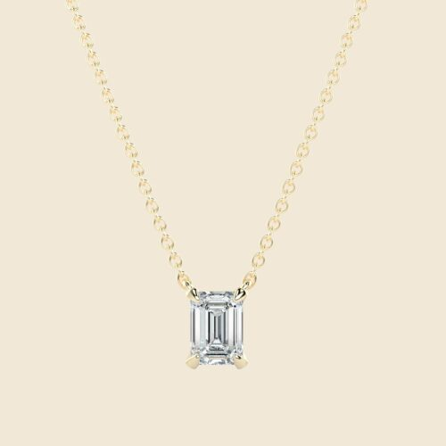 Emerald Lily Kette Gelb